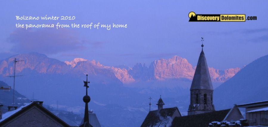Via Ferrata Dolomites: Bolzano panorama