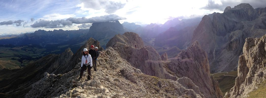 Via Ferrata Maximiliansteig - Central Dolomites