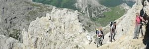 Via Ferrata Dolomites WW1 easy