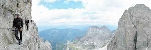 Via Ferrata Dolomites western: Via delle Bocchette