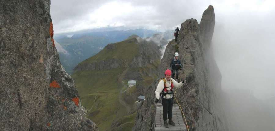 via ferrata trincee