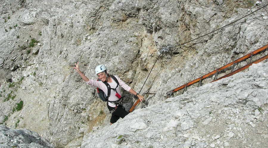 Via Ferrata Dolomites Cortina Bonacossa