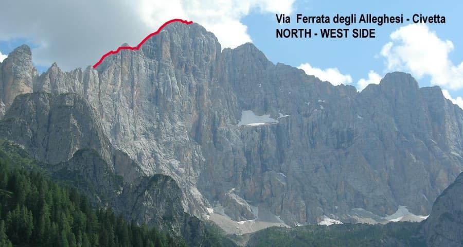 Via Ferrata Dolomites Civetta 2