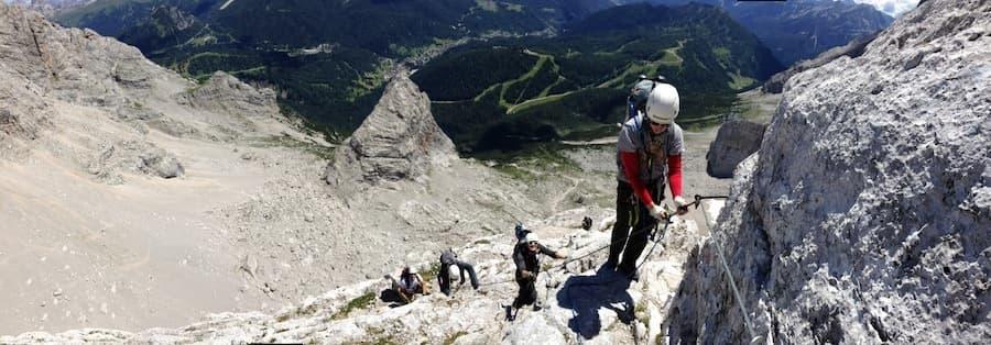 Via Ferrata Dolomites Civetta 3