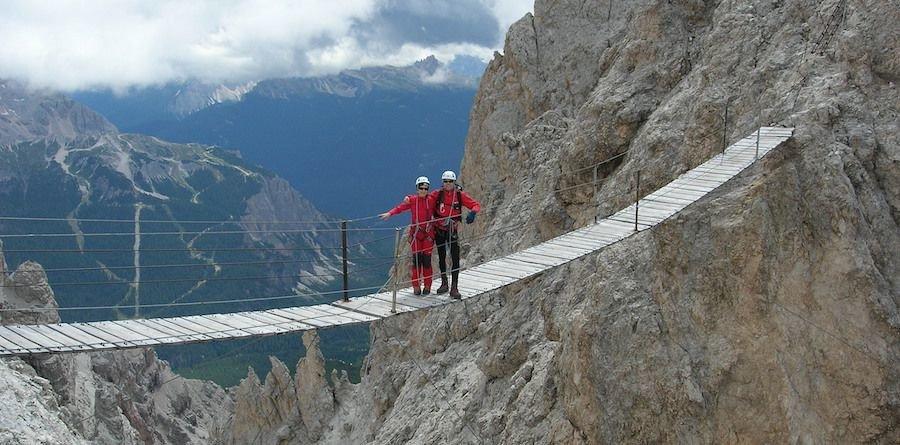 Via Ferrata Dolomites Cortina Dibona