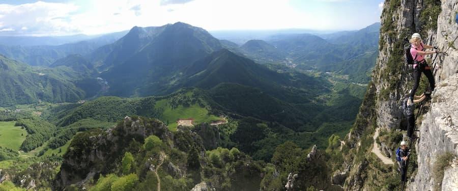Via Ferrata Dolomites WW1 Pasubio 8