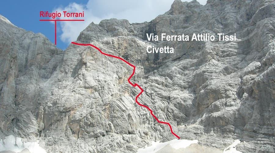 Via Ferrata Dolomites Civetta 7