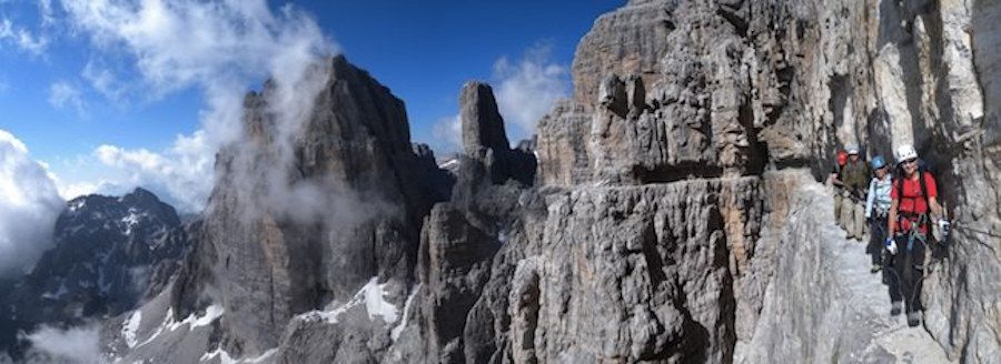 Via delle Bocchette: Brenta Dolomites 3