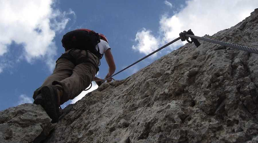 Via Ferrata Dolomites beginners program 2