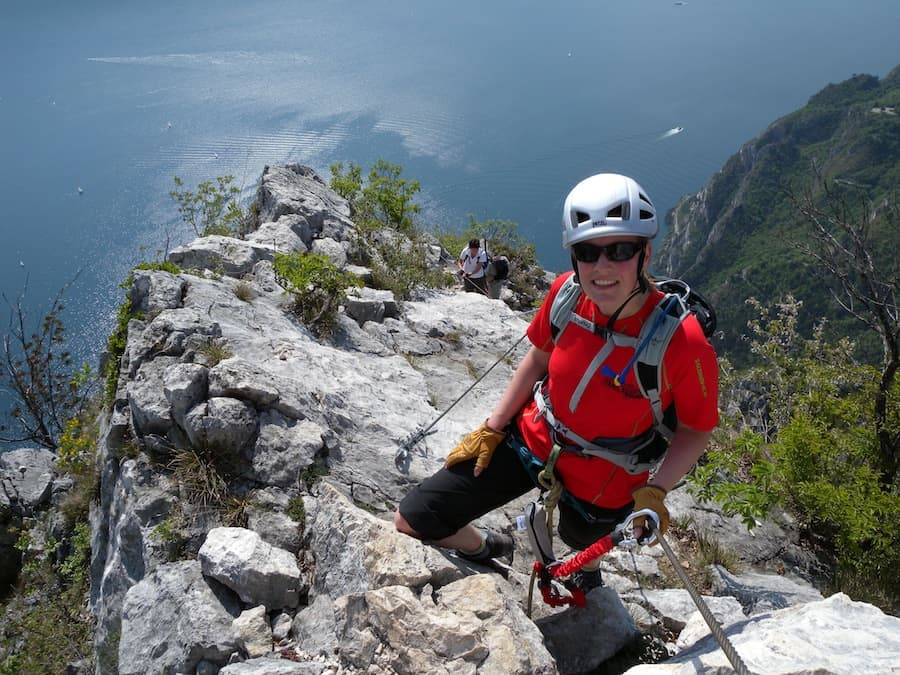Via Ferrata Lake Garda Cima Capi