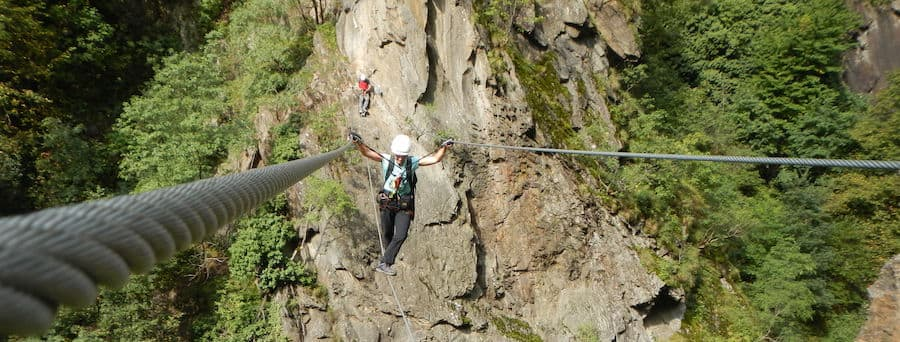 Via Ferrata Lake Garda Hoachwoll