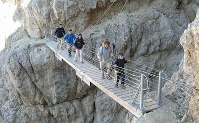 Via Ferrata Dolomites WW1 easy trek 5