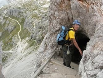 Via Ferrata Dolomites WW1 easy trek 8