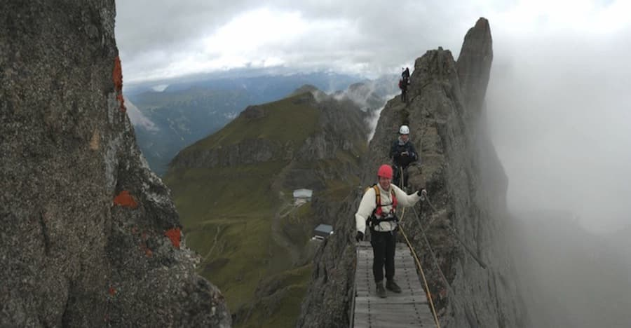Via Ferrata Dolomites WW1 great trek 2