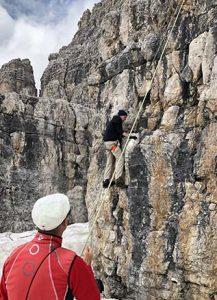 Via delle Bocchette climbing