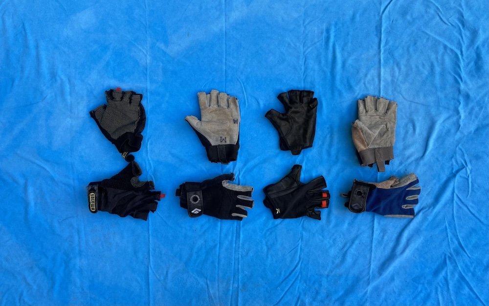Via Ferrata gloves