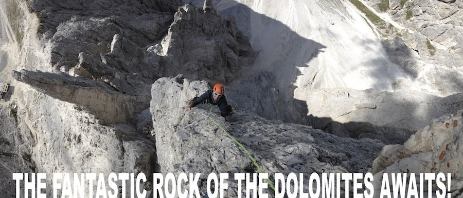 Your first climbing in the Dolomites