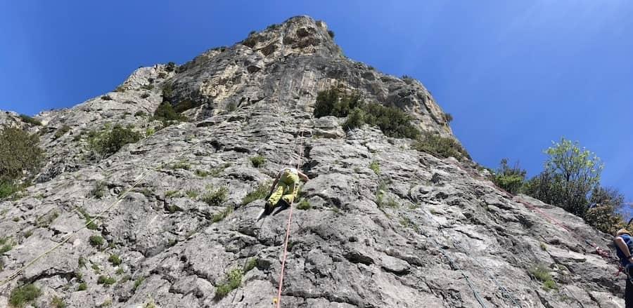 rock climbing holidays in Italy
